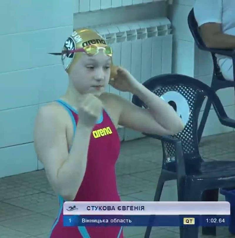 На Вінниччині з'явилась 13-річна КМС з плавання