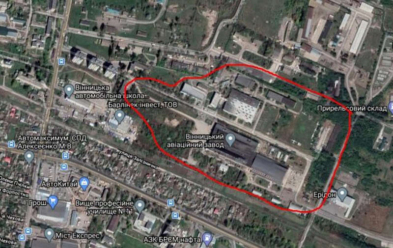Куди зникли 63 гектали землі Вінницького авіаремонтного заводу