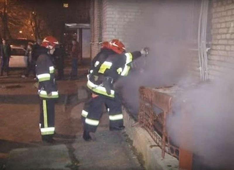 У пожежі на Станіславського дивом обійшлось без жертв