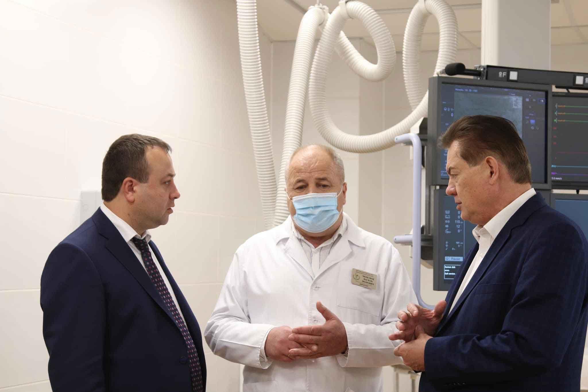 Сергій Борзов: ангіограф у Могилів-Подільському кардіоцентрі нарешті використовують! А значить, врятують не одне серце