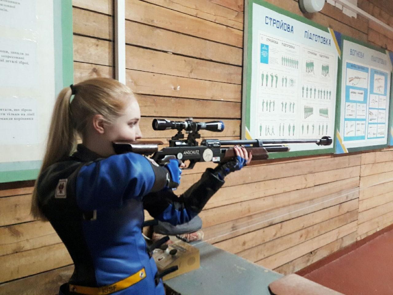 Чемпіонат області з кульової стрільби відбувся у Вінниці