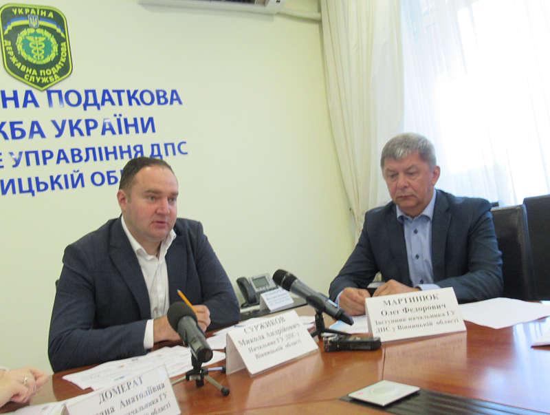 До місцевих бюджетів Вінниччини надійшло понад 4 млрд грн податків