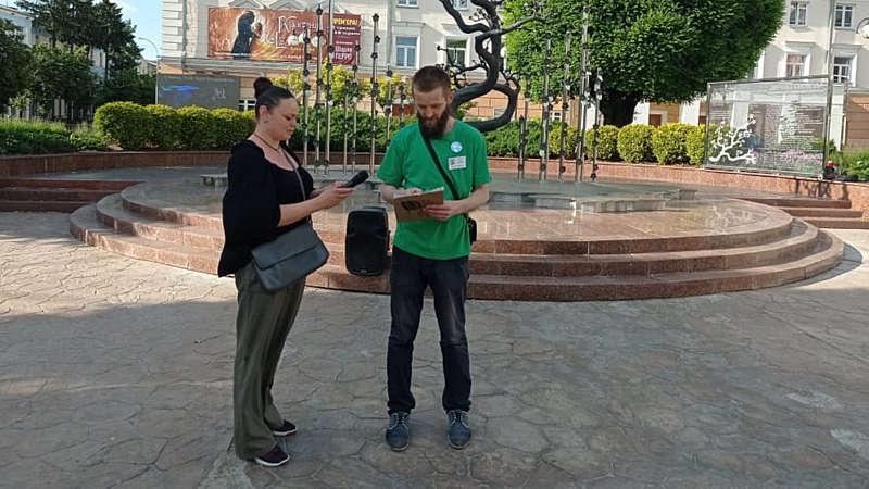 У Вінниці відбулася акція на підтримку політв'язня Теймура Абдуллаєва