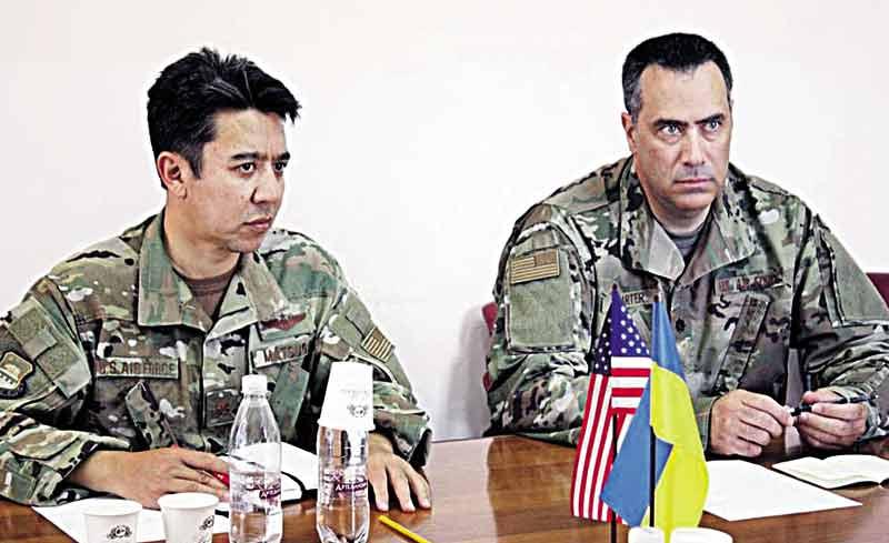 Що обговорювали з американськими партнерами представники Повітряних сил ЗС України у Вінниці?