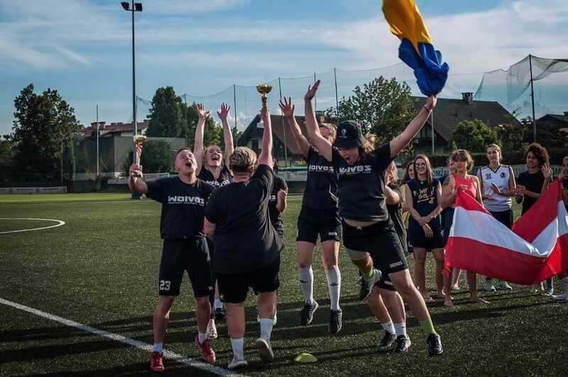 «Вінницькі Вовчиці» «загризли» всіх на турнірі з флаг-футболу у Словенії