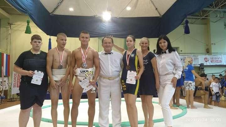 """Вінницький сумоїст Данило Явгусішин здобув одразу три """"золота"""" на чемпіонаті Європи"""