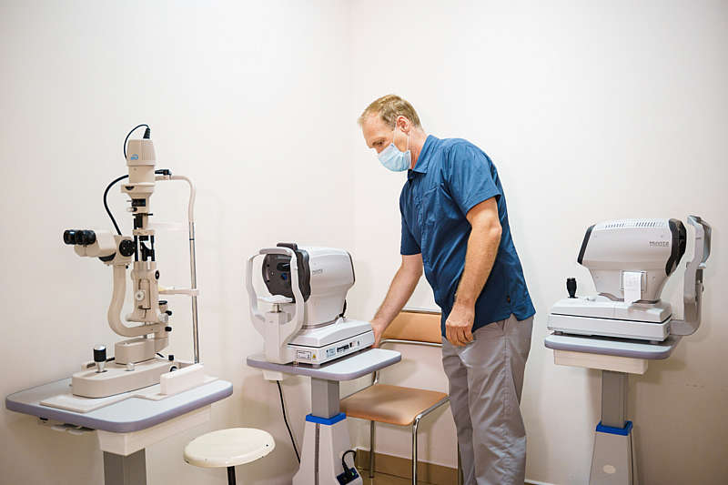 Сучасне обладнання закупили для кабінету офтальмології міської лікарні №1