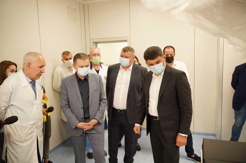 Новий корпус лікарні швидкої медичної допомоги плануємо здати в експлуатацію цього року – Сергій Моргунов