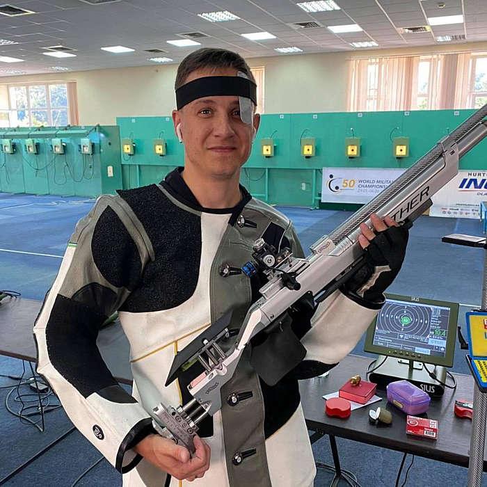 Стрілець Олег Царьков їде на Олімпійські ігри в Токіо