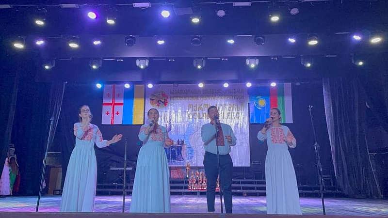 Молодіжний народний вокальний ансамбль «Оберіг» ДонНУ ім. В.Стуса здобув перемогу у Грузії – 1 місце!