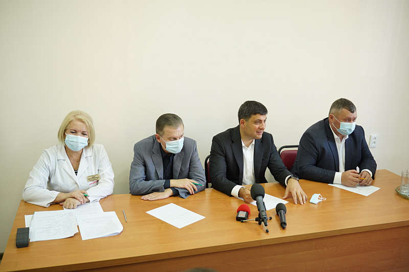 Сергій Моргунов: на боротьбу з COVID першій міській лікарні виділили рекордні 109 млн грн
