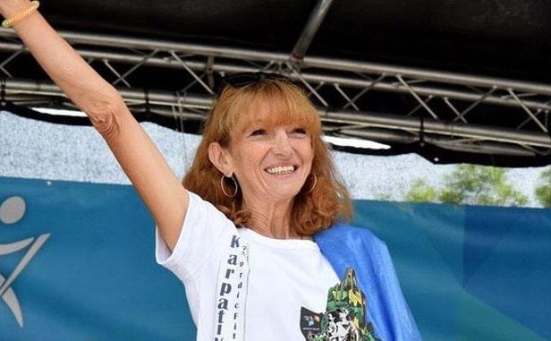 Рекорд з бігу у Вінниці встановила 64-річна львів'янка Ольга Стадник