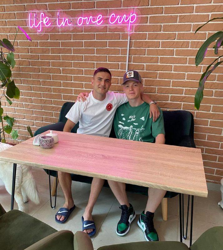 Циганков разом зі своєм другом відкрили кав'ярню у Вінниці