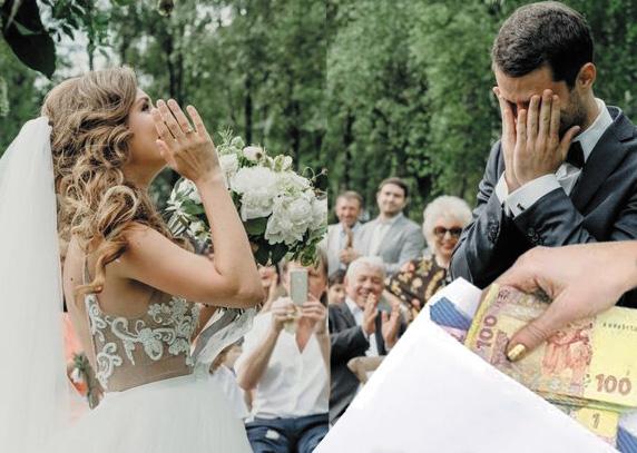 Разом із запрошеннями на весілля наречена вказала кожному, скільки хто має принести грошей