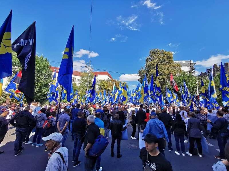 Вимоги нації ставили і вінничани на марші у Києві