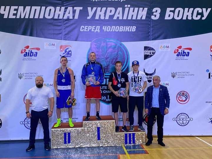 Вінницький боксер Максим Жигаров виграв чемпіонат України серед чоловіків і здобув путівку на світову першість