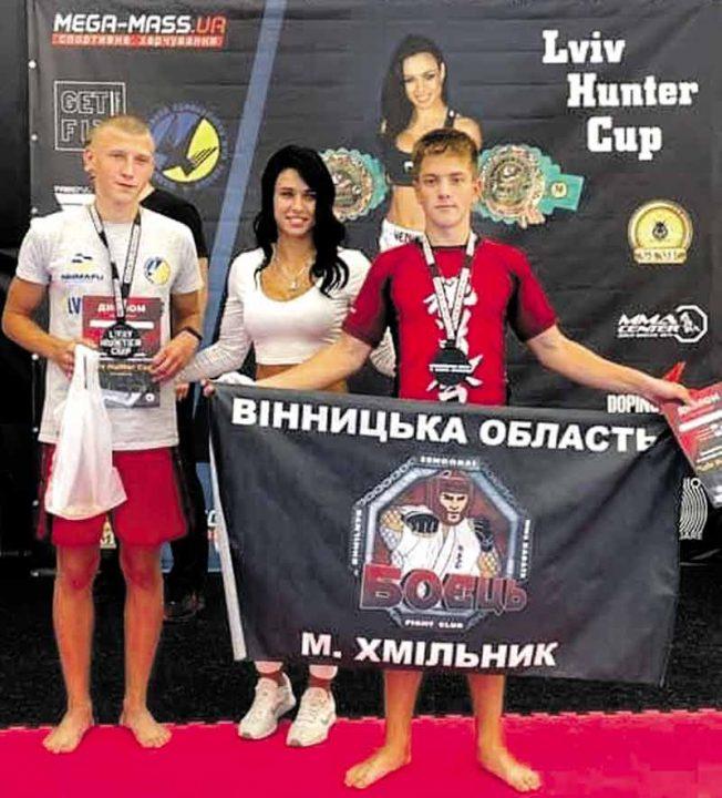 10 медалей привезли на Вінниччину чемпіони змішаних єдиноборств зі Львова