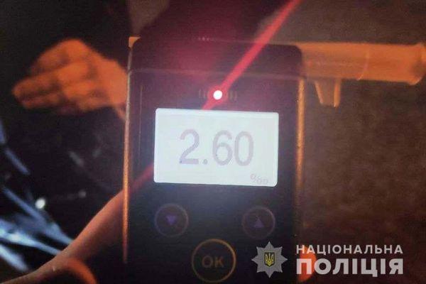20 000 хабаря пропонував п`яний водій поліцейським у Вінниці