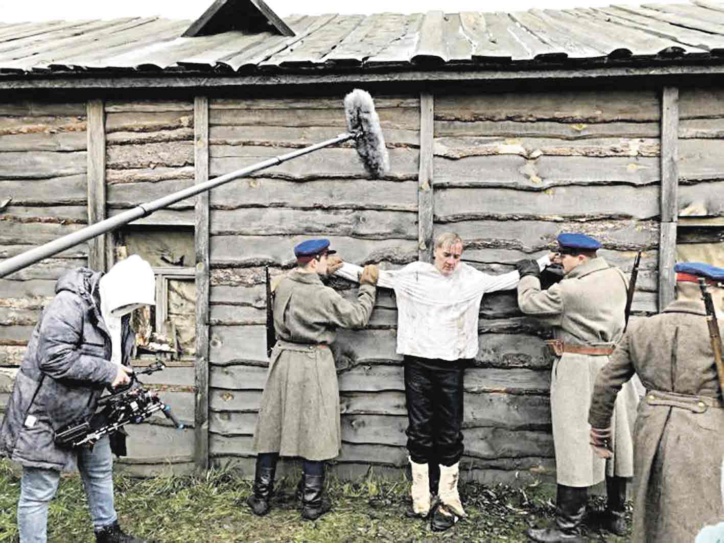 Єпископ Бернацький зіграв роль у фільмі про Вінниччину