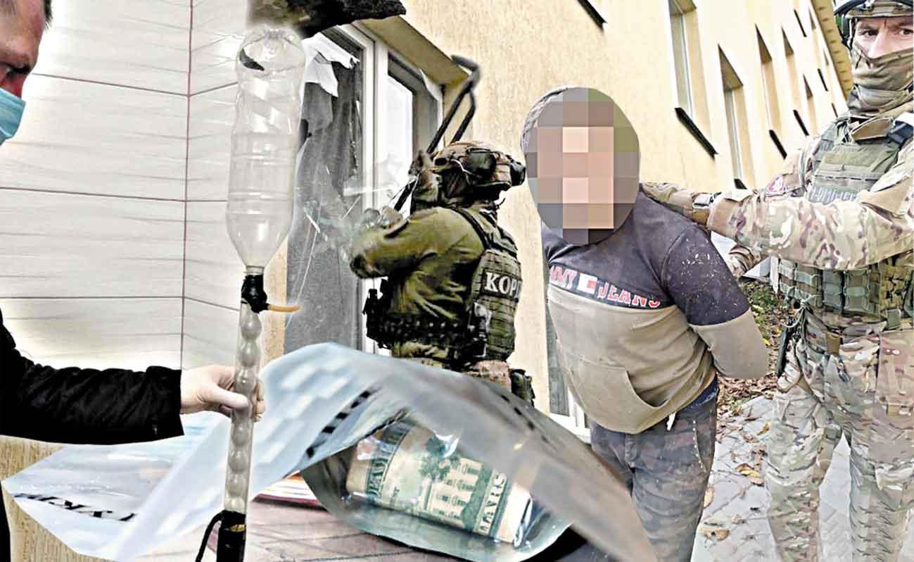Наркоцех у Ладижині накрили бійці КОРДу на броньовиках Нацгвардії. Оптові партії амфітаміну та інших психотропних речовин виготовляли колишні зеки