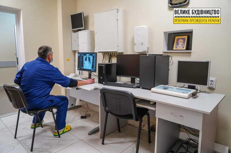 Сергій Борзов: «Велике будівництво» дає результат – завдяки програмі президента у Гайсині працює оновлене приймальне відділення