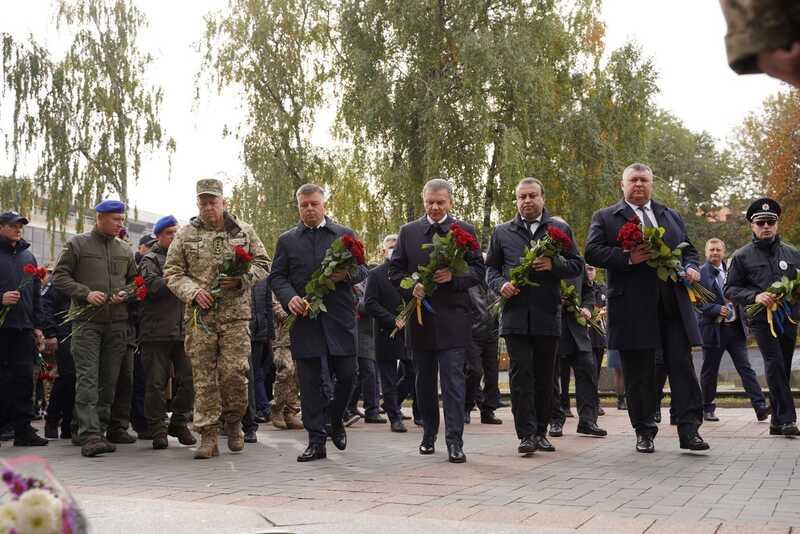 У Вінниці вшанували пам'ять загиблих Героїв напередодні Дня захисників і захисниць України