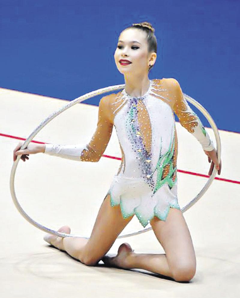 Бронзову медаль із Еміратів привезла юна вінницька гімнастка