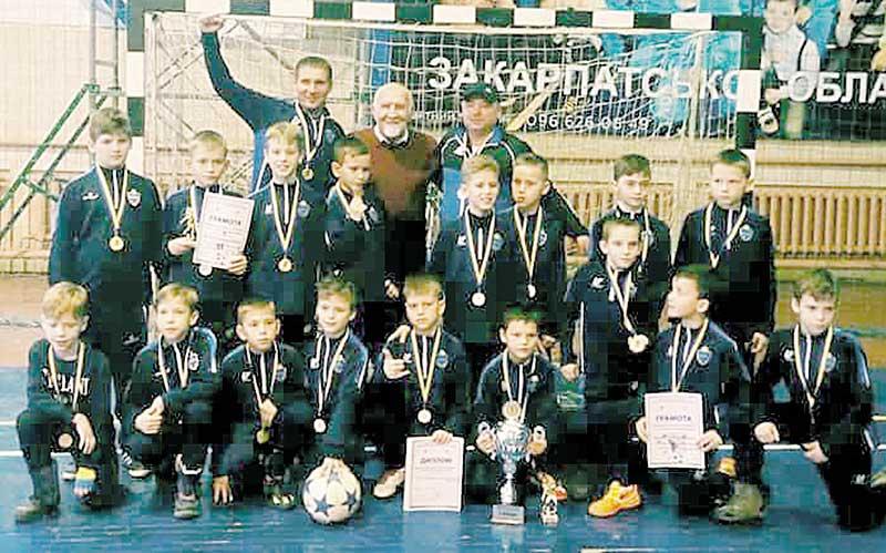 Юні футболісти перемогли у міжнародному турнірі