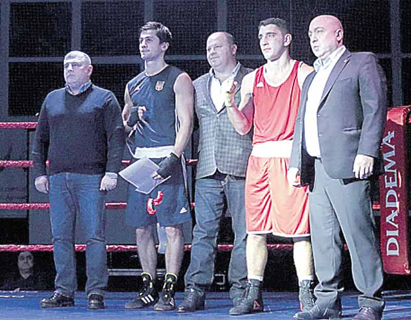 Кращі боксери України боксували на честь вінничанина