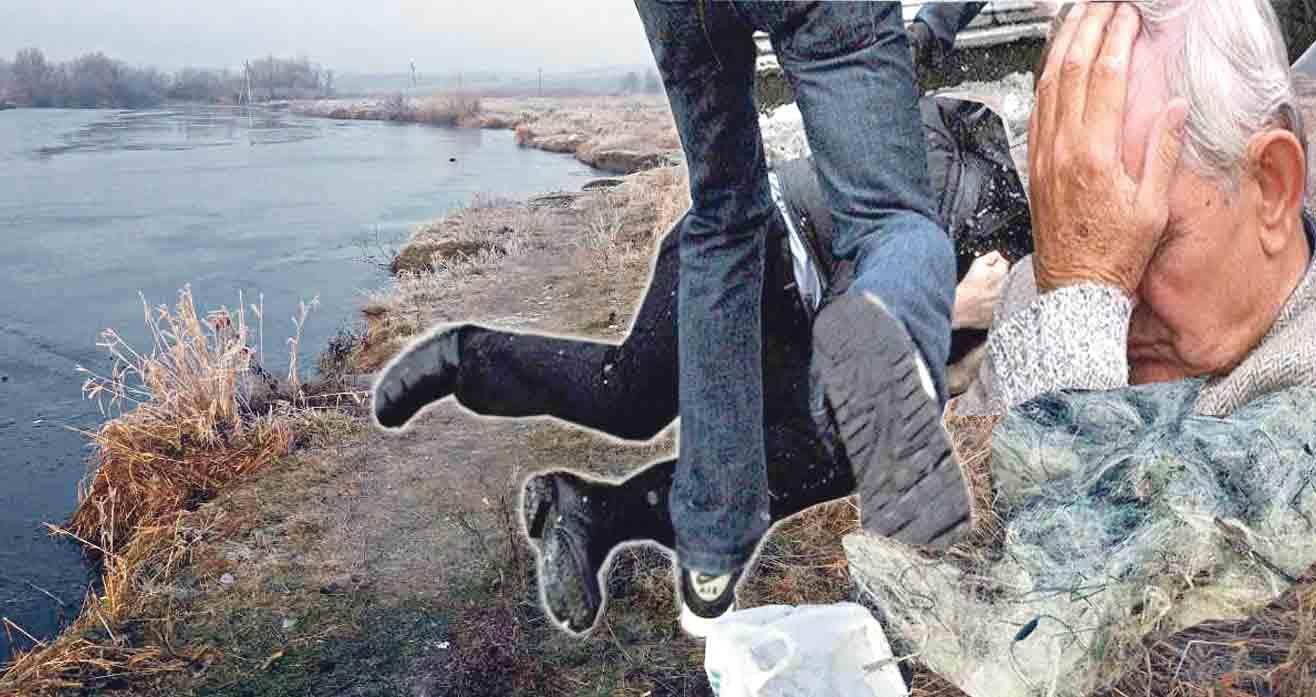 За чотири рибини жорстоко побили пенсіонерів
