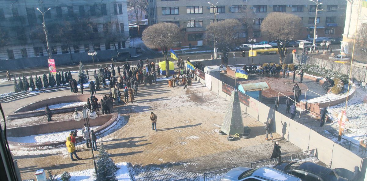 У Вінниці демонтували погруддя Шевченка