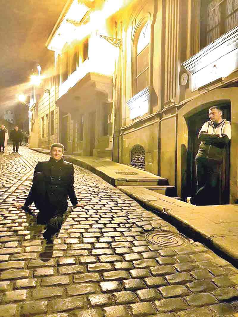 На «Черт побери!» в Баку знімалась команда «Вінницьких», що засвітилась у «Лізі сміху»