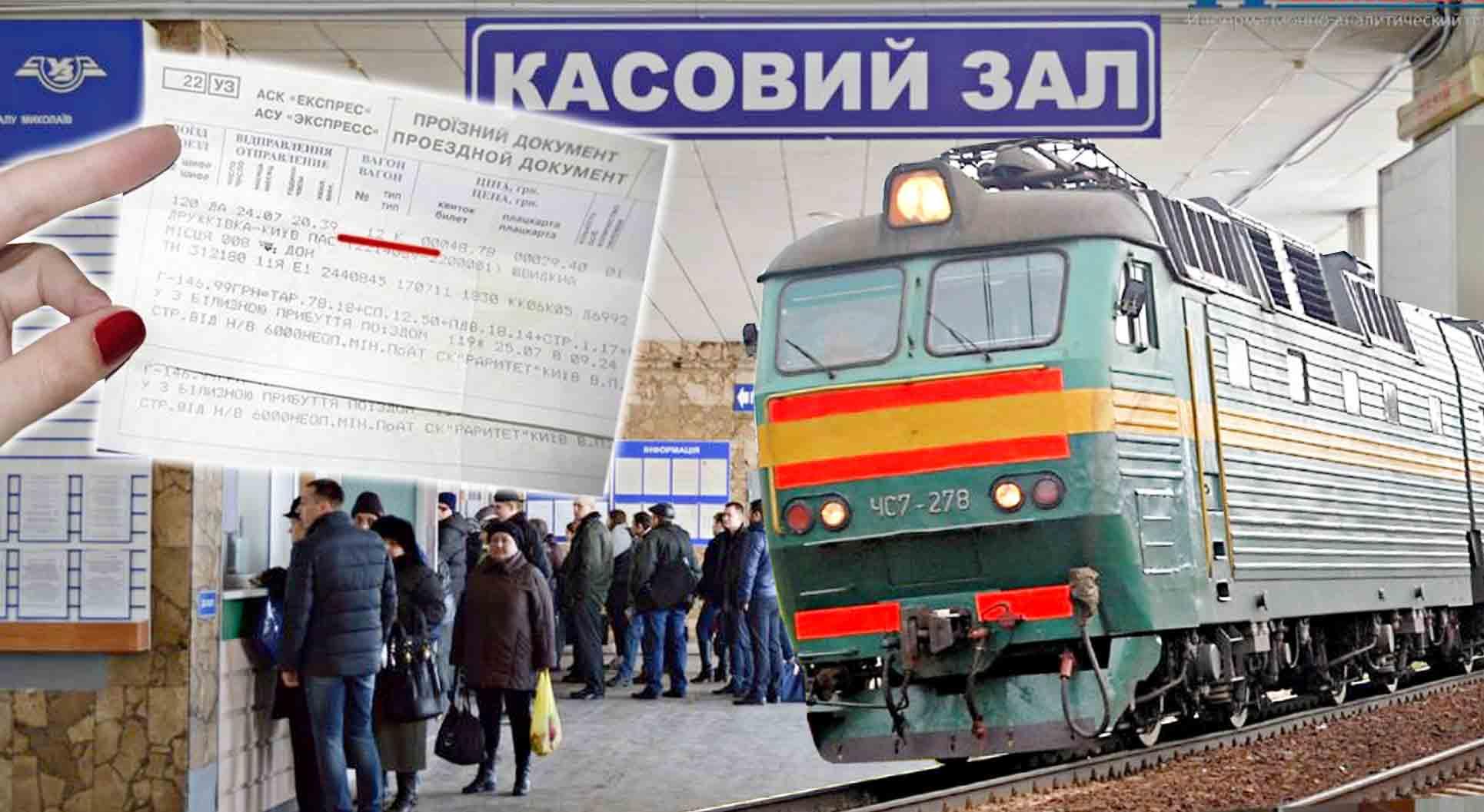 За 200-гривневий квиток у касі вокзалу повернули всього 10 грн.