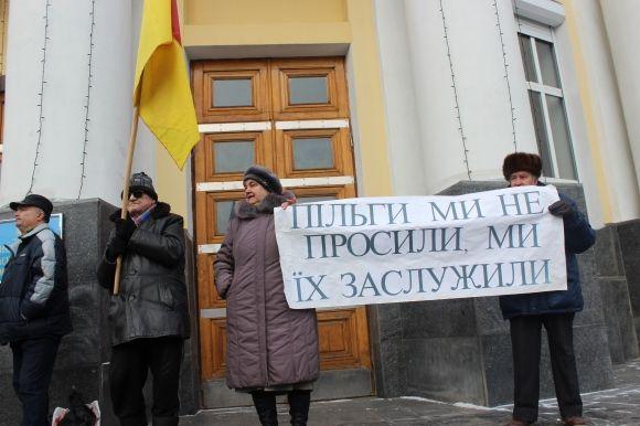 «Силові» пенсіонери завтра знову вийдуть у Вінниці під ОДА