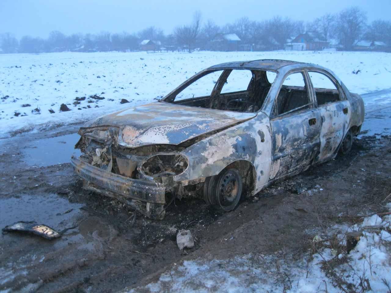 Чому в Мочулці заживо згорів водій у «Daewoo Lanos»?