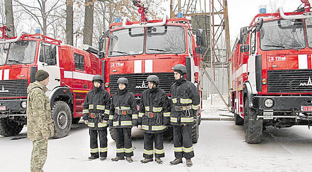 Калинівський арсенал отримав нові пожежні машини та кінологічну службу