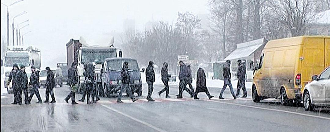 Трасу на Київ перекривали ветерани АТО із сім'ями