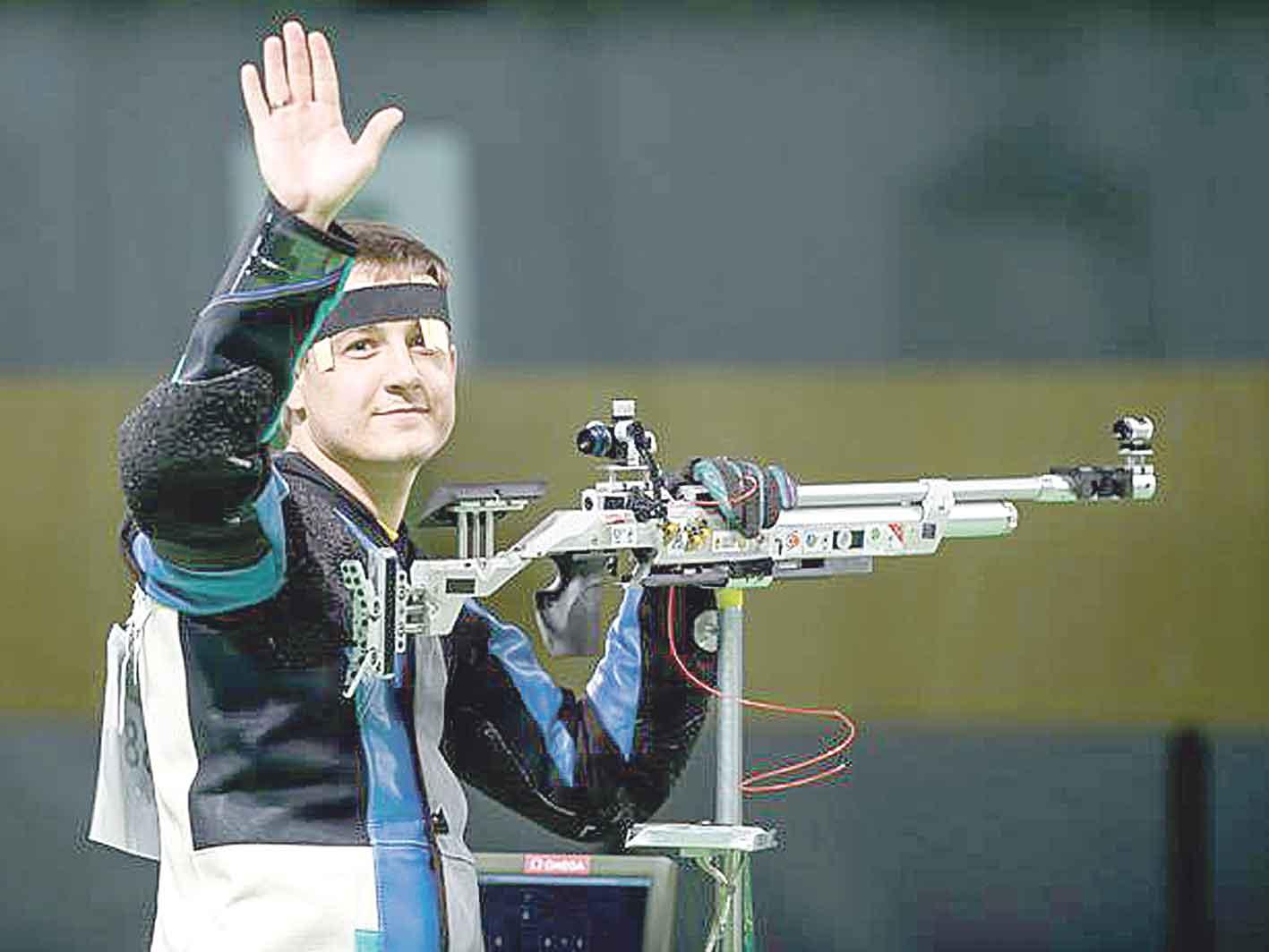 Найкращий спортсмен Вінниччини стрілець Олег Царьков боротиметься за Олімпіаду в Токіо