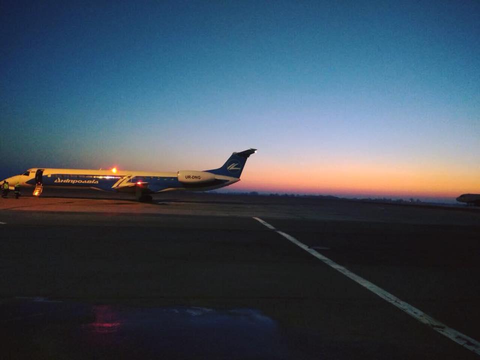 «Авіамаршрутка» Вінниця-Київ-Вінниця виконала перші рейси