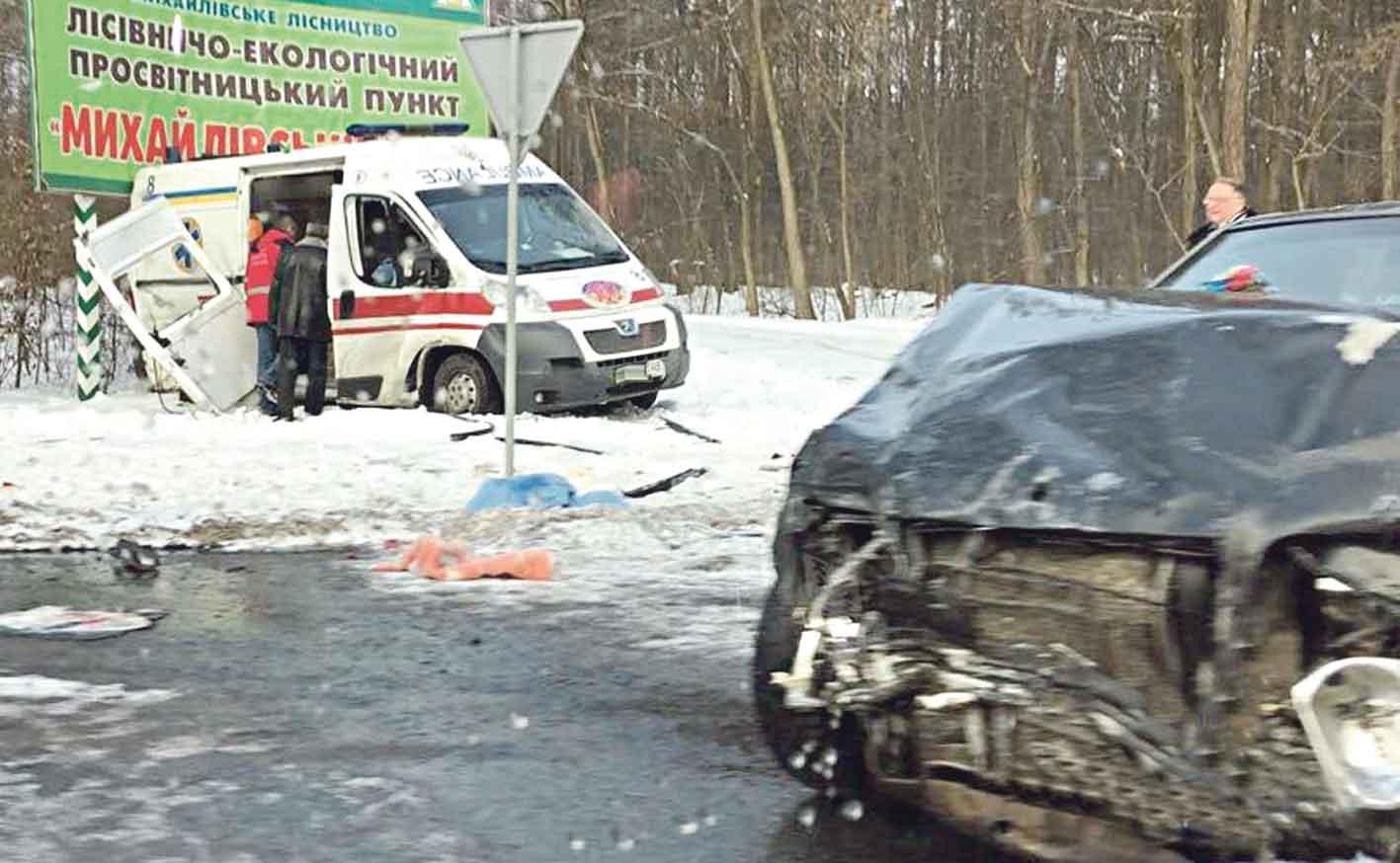 Масштабна аварія під Вінницею – 10 постраждалих. Серед учасників – син екс-голови райради