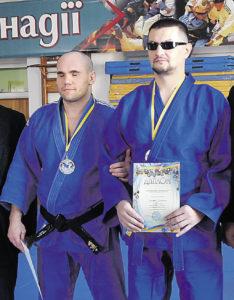 Незрячий дзюдоїст виборов срібну медаль
