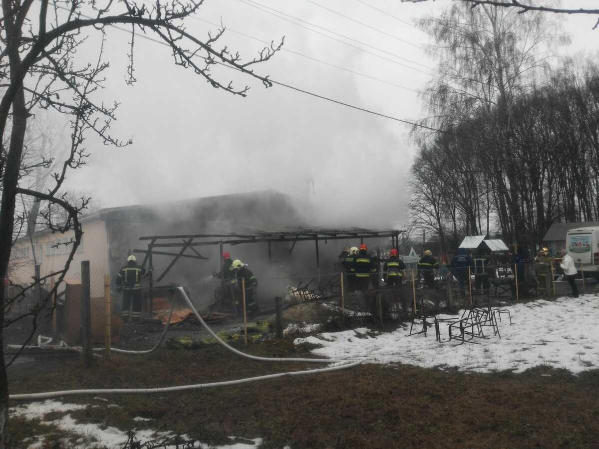 Вихованців Вороновицького будинку-інтернату, де сталась пожежа, тимчасово переселять у Брацлав