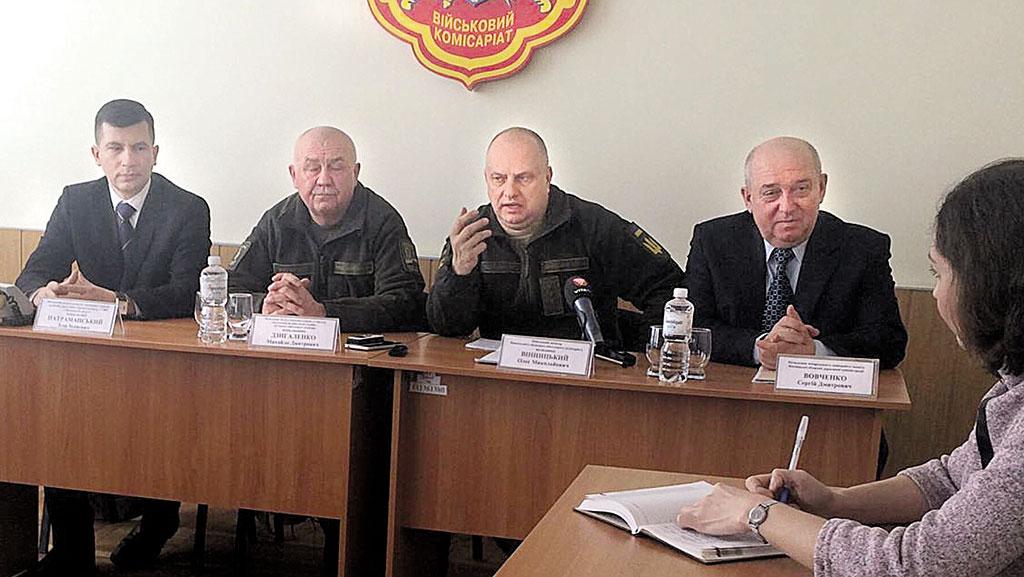 830 призовників і 330 контрактників підуть весною з Вінниччини до ЗСУ та Нацгвардії