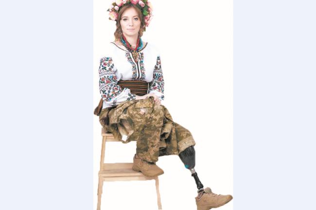 Боєць із Вінниці, яка втратила ногу під Авдіївкою, перемогла у конкурсі краси