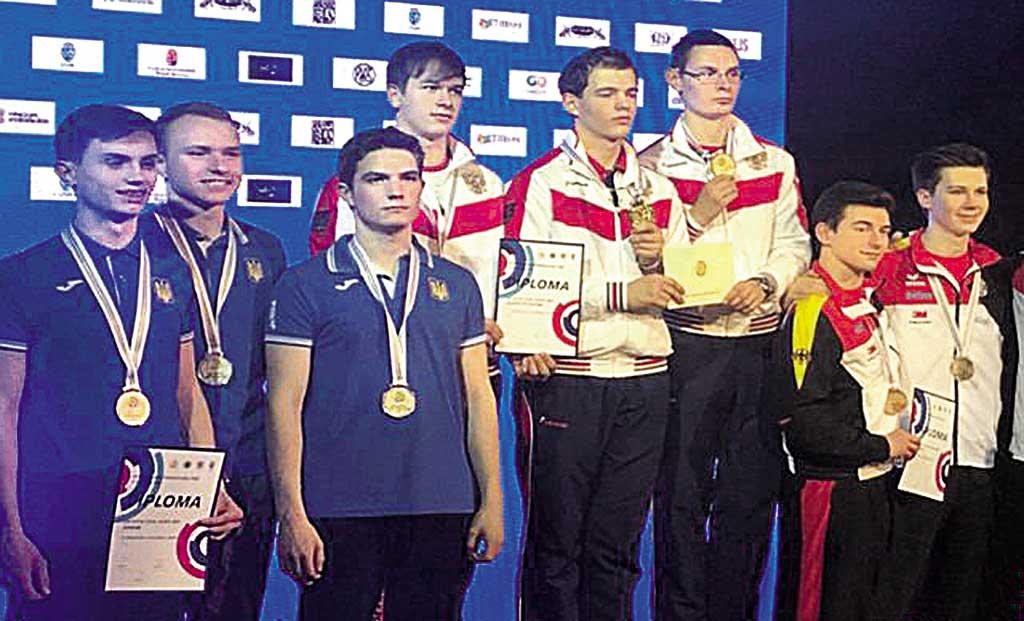 П'ять золотих медалей настріляли на чемпіонаті Європи вінницькі спортсмени-снайпери