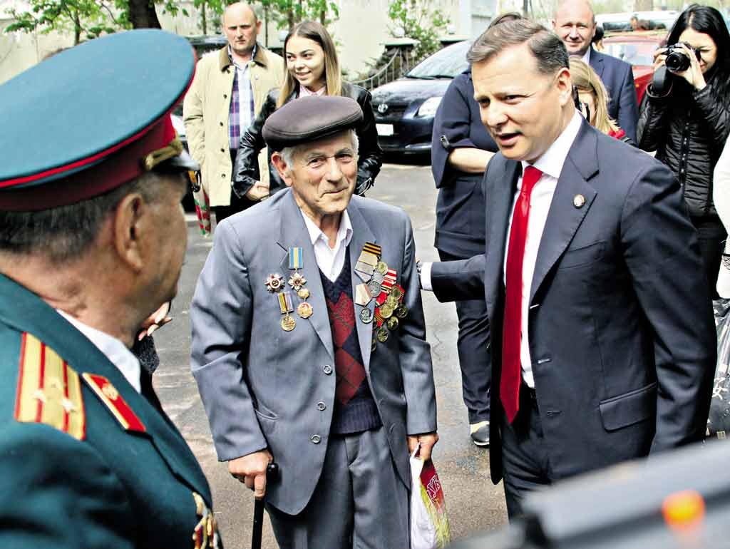 Ляшка у Вінниці запитали про землю для атовців, військові пенсії та наслідки медреформи
