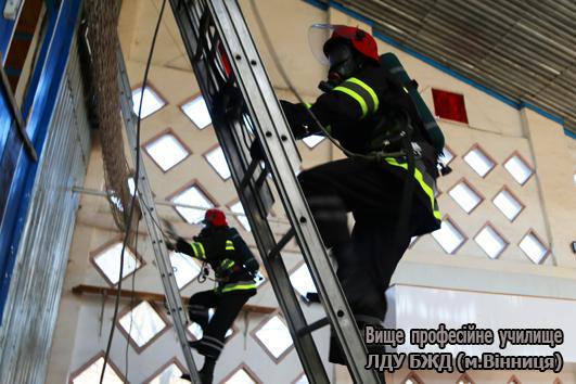 Майбутні рятувальники змагались у Вінниці