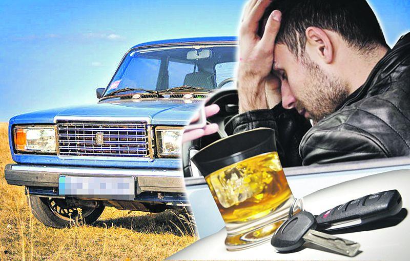 Поліцейський вінницького відділку їздив напідпитку на службовому авто