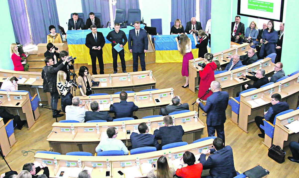 Кризу в обласній раді викликало питання про виділення 10 гектарів землі Ткачукам