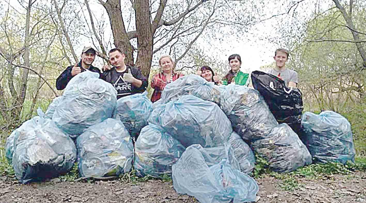 80 мішків сміття зібрали небайдужі заради хворого Ярослава